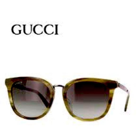 Authentic Gucci Havana Shades!!!